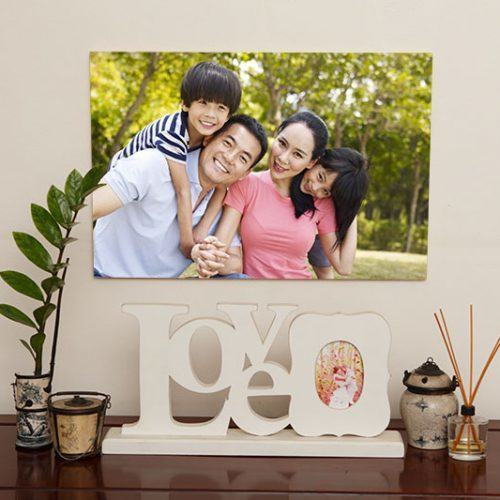 12x18 photo print on wood